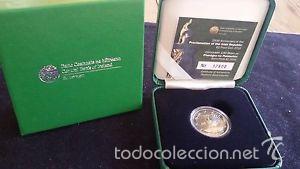 IRLANDA 2016. MONEDA DE 2 EUROS CONMEMORATIVA DE HIBERNIA PROOF. CON CAJA Y CERTIFICADO. (Numismática - España Modernas y Contemporáneas - Ecus y Euros)