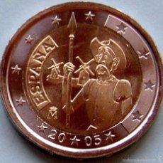 Euros: 2 EUROS ESPAÑA 2005 QUIJOTE. Lote 56894718