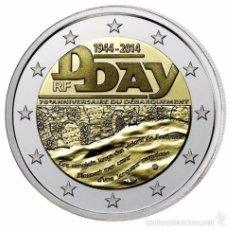 Euros: 2 EUROS FRANCIA 2014 DIA D. Lote 244903250