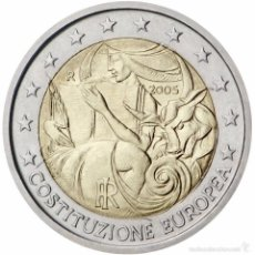 Euros: 2 EUROS ITALIA 2005 CONSTITUCION EUROPEA . Lote 56910079