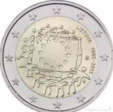 Euros: 2 EUROS LITUANIA 2015 BANDERA COMUN. Lote 210638404