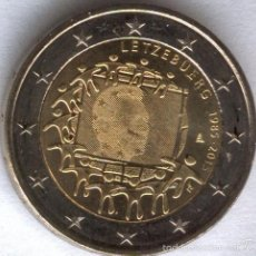 Euros: 2 EUROS LUXEMBURGO 2015 BANDERA COMUN. Lote 270394213