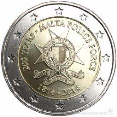 Euros: 2 EUROS MALTA 2014 POLICIA. Lote 206959126