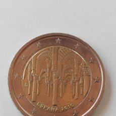 Euros: MONEDA ESPAÑA 2 EURO AÑO 2010 -MEZQUITA CORDOBA-.EBC. Lote 195528308