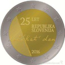 Euros: ESLOVENIA 2 EUROS 2016 25 ANIVERSARIO DE LA INDEPENDENCIA DE ESLOVENIA. Lote 231438540