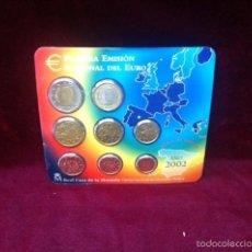 Euros: 2002 CARTERA PRIMERA EMISION DEL EURO. Lote 82329168