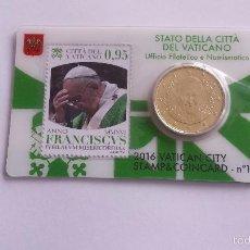 Euros: VATICANO 2016 COINCARD Nº10. Lote 173539145