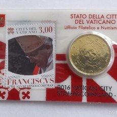 Euros: VATICANO 2016 COINCARD Nº13. Lote 173539180