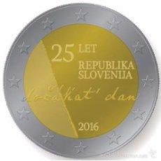 Euros: ESLOVENIA 2016. MONEDA 2 EUROS CONMEMORATIVA DEL 25 ANIVERSARIO DE LA INDEPENDENCIA.. Lote 195493998