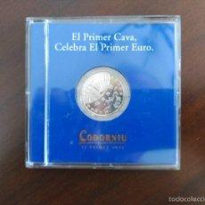 Euros: EL PRIMER CAVA CELEBRA EL PRIMER EURO. Lote 58470002