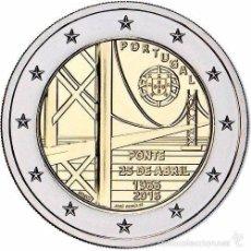 Euros: 2 EUROS CONMEMORATIVA PORTUGAL 2016 PUENTE SC. Lote 147483834