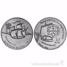 Euros: PORTUGAL 2011 2,5€ CENTENARIO UNIVERSIDAD DE LISBOA 1911-2011. Lote 151654256
