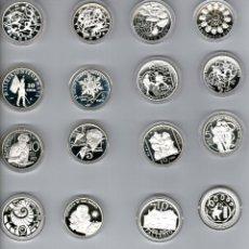 Euros: SAN MARINO----COLECCION MONEDAS PLATA 5€ Y 10€ -----2002-2011. Lote 59754300