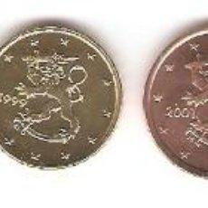 Euros: LOTE 6 MONEDAS FINLANDIA EUROS. Lote 60291315