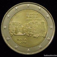 Euros: 2 EUROS MALTA 2016 TEMPLOS GGANTIJA. Lote 62761288
