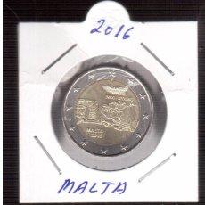 Euros: 2 € CONMEMORATIVOS DE MALTA. Lote 63511776
