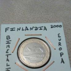 Euros: MONEDA 1 EURO FINLANDIA 2000 MBC ENCARTONADA. Lote 162963400