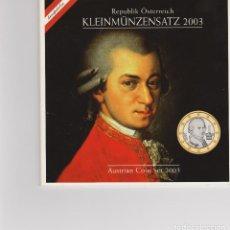 Euros: EUROS - AUSTRIA - SERIE 8 MONEDAS - EN CARTERA OFICIAL 2003. Lote 148402204