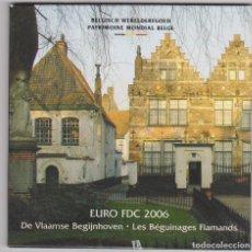 Euros: EUROS - BELGICA - SERIE 8 MONEDAS - EN CARTERA OFICIAL 2006. Lote 113583734