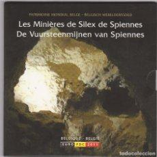 Euros: EUROS - BELGICA - SERIE 8 MONEDAS - EN CARTERA OFICIAL 2011. Lote 154201929