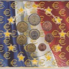 Euros: EUROS - FRANCIA - SERIE DE 8 MONEDAS - EN CARTERA OFICIAL - 2003. Lote 187657011