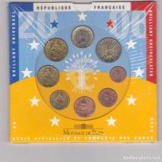 Euros: EUROS - FRANCIA - SERIE DE 8 MONEDAS - EN CARTERA OFICIAL - 2006. Lote 67358509