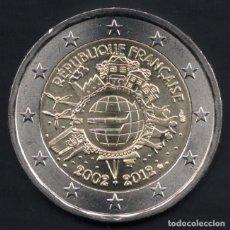 Euros: MONEDA DE 2 EUROS FRANCIA COMMEMORATIVA AÑO 2012. Lote 67378633