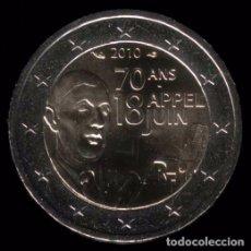 Euros: MONEDA DE 2 EUROS FRANCIA COMMEMORATIVA AÑO 2010. Lote 67378777