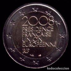 Euros: MONEDA DE 2 EUROS FRANCIA COMMEMORATIVA AÑO 2008. Lote 67378953