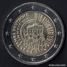 Euros: MONEDA 2 EUROS ALEMANIA COMMEMORATIVA AÑO 2015 CECA D. Lote 100492258