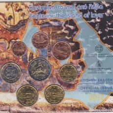 Euros: EUROS - GRECIA - SERIE DE 8 MONEDAS - EN CARTERA OFICIAL - 2012. Lote 67508437