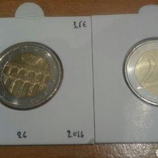 Euros: MONEDA DE 2 EUROS COMMEMORATIVOS CALIDAD SC ESPAÑA 2016. Lote 217522658