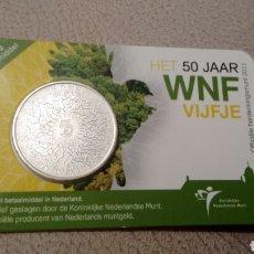 Euros: MONEDA 5€ HOLANDA 2011 EN COINCARD. Lote 69279027
