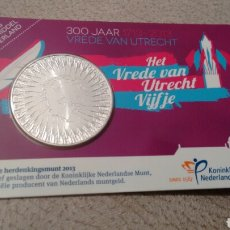 Euros: MONEDA DE 5€ HOLANDA AÑO 2013 EN COINCARD. Lote 69280189