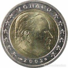 Euros: MONEDA DE 2 EUROS MONACO 2002 - SIN CIRCULAR. Lote 118728119