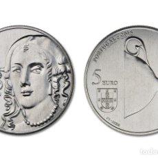 Euros: PORTUGAL 2016 5€ D. CATARINA DE BRAGANÇA. Lote 143450637