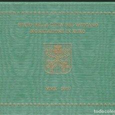 Euros: MONEDAS - VATICANO - SERIE 2010 - (8 MONEDAS) EN CARTERA OFICIAL. Lote 172988143