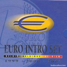 Euros: EUROS - BELGICA - 24 MONEDAS - EN CARTERA OFICIAL - 1999-00-01 (TRIO). Lote 71418943