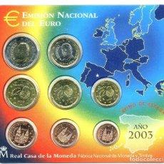 Euros: BLISTER EUROS 2003. Lote 73038263