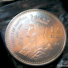 Euros: ESPAÑA - 12 EUROS AÑO 2004 ISABEL DE CASTILLA (PLATA/AG). Lote 74746723