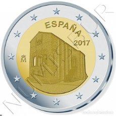 Euros: ESPAÑA 2 EURO 2017 S/C IGLESIA DE SANTA MARIA DEL NARANCO (ASTURIAS) - SPAIN. Lote 106548783