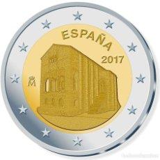 Euros: ESPAÑA 2 EUROS 2017 IGLESIA DE SANTA MARÍA DEL NARANCO. Lote 235493460