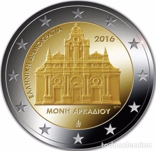 GRECIA 2016 2€ MONASTERIO DE ARKADI (Numismática - España Modernas y Contemporáneas - Ecus y Euros)