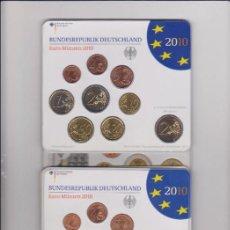 Euros: EUROS - ALEMANIA - SERIE 9 MONEDAS (X5) - EN CARTERA OFICIAL 2010 LETRAS A-D-F-G-J. Lote 67284245