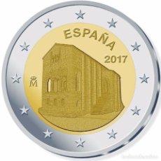 Euros: ESPAÑA 2017 2€ SANTA MARIA DEL NARANCO. Lote 106546016