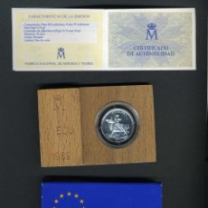 Euros: ESTUCHE 1 ECU 1989 RAPTO DE EUROPA - PLATA - ORIGINAL FNMT. Lote 77647957