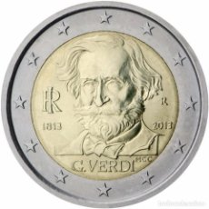 Euros: 2 EUROS CONMEMORATIVA ITALIA 2013 VERDI SC. Lote 222438218