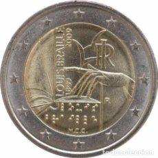 Euros: 2 EUROS CONMEMORATIVA ITALIA 2009 BRAILLE SC. Lote 269950913