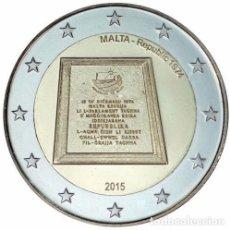 Euros: 2 EUROS CONMEMORARIVA MALTA 2015 REPUBLICA SC. Lote 147483581