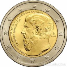 Euros: 2 EUROS CONMEMORATIVA GRECIA 2013 PLATON SC. Lote 222438325